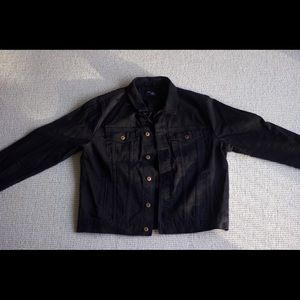 FOREVER 21 BLACK DENIM JACKET